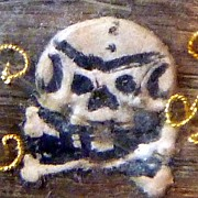SOLD Antique Pre Georgian Stuart Crystal Brooch