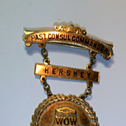 SALE Vintage Woodmen of the World Medal