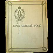 SALE PENDING King Albert's Book