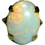 SALE Vintage Opal Ring