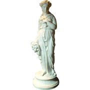 SALE Antique 19 th Century Parian Figure