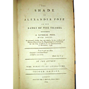 SALE THE SHADE OF ALEXANDER POPE ON THE BANKS OF THE THAMES