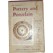 The Book of Pottery and Porcelain