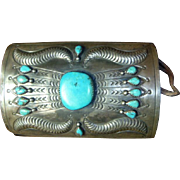 Vintage Navajo Sterling Silver Ketoh