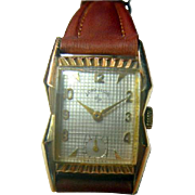 SALE Vintage 1950's Lord Elgin Wristwatch