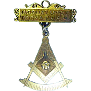 Vintage Masonic Pin