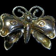 Vintage Navajo Sterling Butterfly Brooch