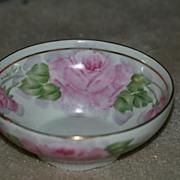 German Hand Painted Porcelain Dish / Bowl