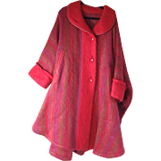 SOLD Gorgeous Mohair Irish Cape/Poncho - Red Tag Sale Item
