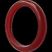 Red Cherry Bakelite Jelly Bangle
