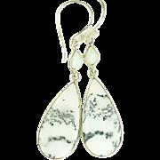 Dendritic Opal Sterling Earrings