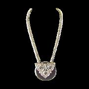 Black and Silver Original Necklace