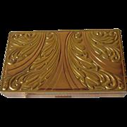 Vintage Evans Brass Color Carryall