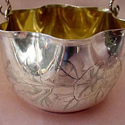 Whiting Aesthetic Sterling Basket