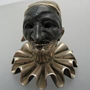 Antique Italian Silver Jester