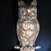 SOLD Brass Owl Letter Opener