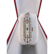 Platinum & Diamond Watch