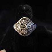 Edwardian Multiple Diamonds Ring