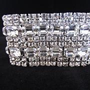 Exceptional Rhinestone Bracelet