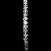 18k Yellow Gold, Platinum and 2.75 cttw Diamond Bracelet