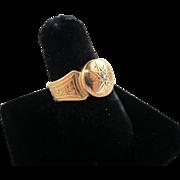 18k Yellow Gold and Diamond Ring - Birmingham 1846