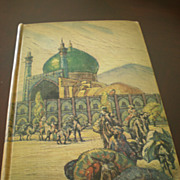 "SOLD 1937  First Edition ""The Adventures of HAJJI BABA of ISPAHAN by James Morier - Red T"