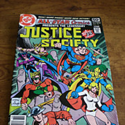 DC Comics- Justice Society 1978 #74 and Justice League of America 1979 #171