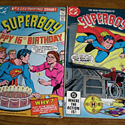 DC Comics The New Adventures of Superboy 1980 and 1982