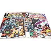 Battlestar Galactica  1979 Issue #2 and #3 by Marvel Comics