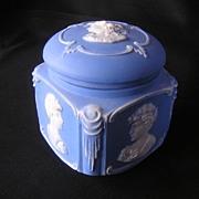 Schafer Vater Bisque Cameo Dresser Box