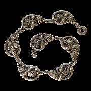 Danecraft Sterling Oak Leaf & Acorn Bracelet