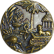 Brass Picture Button Garden at Karnak