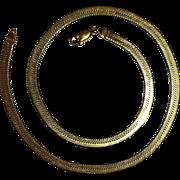 Quality 14k Wide Herringbone Chain