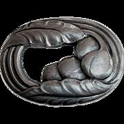 Georg Jensen Art Deco Sterling Denmark Pin #18