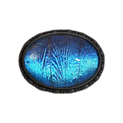 Art Deco Sterling Iridescent Butterfly Wing Pin