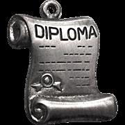 Danecraft Sterling Silver Diploma Charm