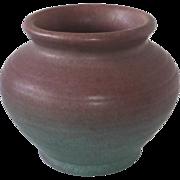 Pfaltzgraff Pottery Apple Blossom Blended Glaze Vase #137