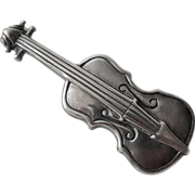 Danecraft Sterling Pin Violin or Cello