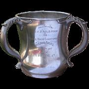 Antique Canoe Trophy Britannia Regatta Double Blade Championship 1902