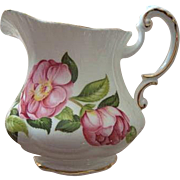 "Paragon China Creamer and Sugar Camellia Series ""Hana-Fuki"""