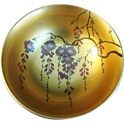 Vintage Japanese Lacquer Bowl