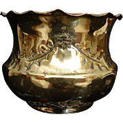 SOLD Brass Bowl/Planter/Cache Pot - Early 20th Century