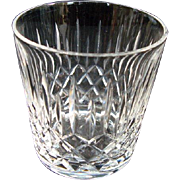 """SALE PENDING Edinburgh Crystal """"Appin"""" Old Fashioned Whisky Glass"""
