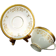 "Royal Doulton ""Belmont"" Cup and Saucer -Finest English Bone China"