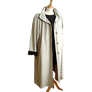 Ladies Coat/Raincoat/Mackintosh - Detachable Faux Fur Lining and Hood