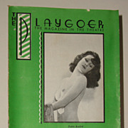 "1936 Playgoer Hollywood Playhouse for Burlesque ""Hollywood Goes Minsky"""