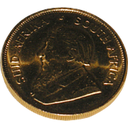 1980 Half Ounce South African Krugerrand