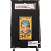 REDUCED T205 RICHARD HOBLITZELL - 'Cin.'' After 2nd 1908 in Stats SGC grade 60 EX 5