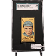 REDUCED T205 RICHARD HOBLITZELL - 'Cin.'' After 2nd 1908 in Stats SGC grade 30 GOOD 2