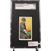 REDUCED T206 RUBE KROH SGC grade 60 EX 5